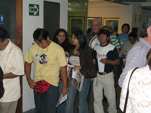 Henry Pilares en el CAFAE-SE