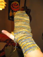 Fingerless mittens 3