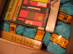 yarn and books