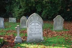 Grave, Winthorpe Church