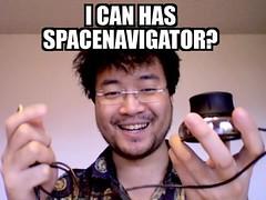 I CAN HAS SPACENAVIGATOR?