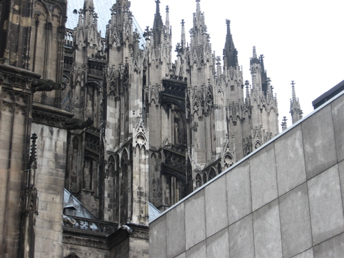 THE CATHEDRAL in Cologne. Yes, the capitals are intentional.