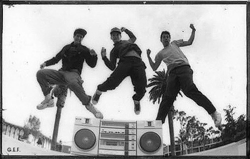 Beastie Boys on KXLU Glen E. Friedman