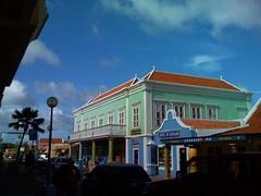 Kralendijk downton in Bonaire
