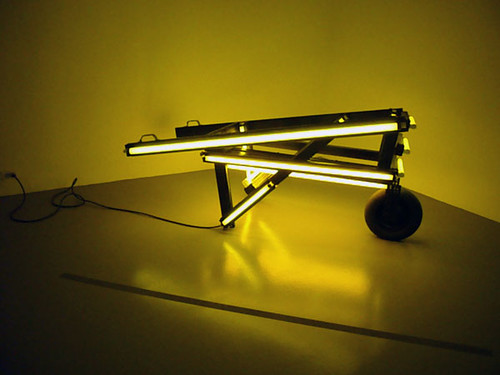 arte moderno 3 carretilla luminosa