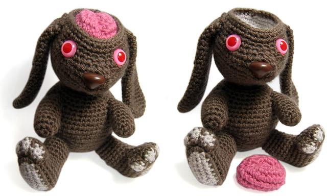 Test lab bunny