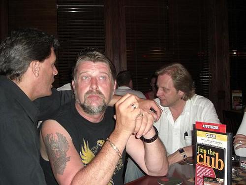 Capt Phil at Nascar in 2007. (Photo courtesy of the Crabbroker)
