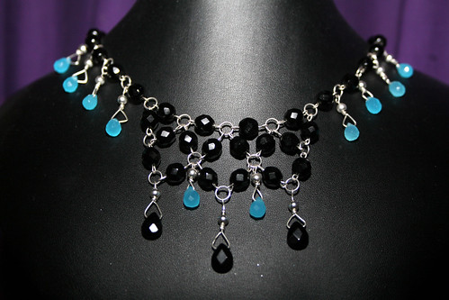 Black and turquoise necklace