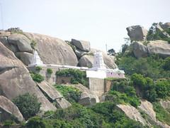 distant view of temple (Through my lens....) Tags: tumkur ddhills devarayanadurgahills