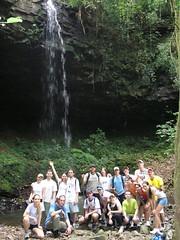 Cachoeiras do Assis Brasil - Itaara RS - 27.10.2007 por Clube Trekking Santa Maria RS - BRAZIL