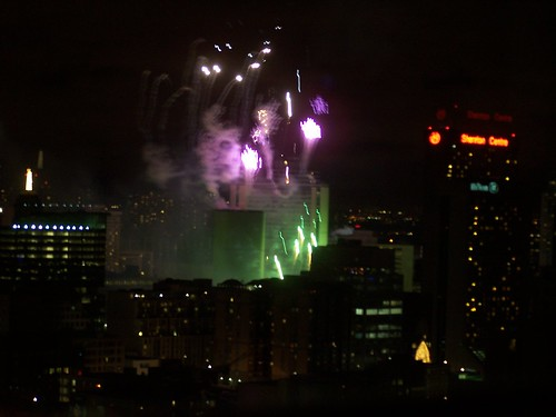 Cavalcade of Lights 2007 from the condo