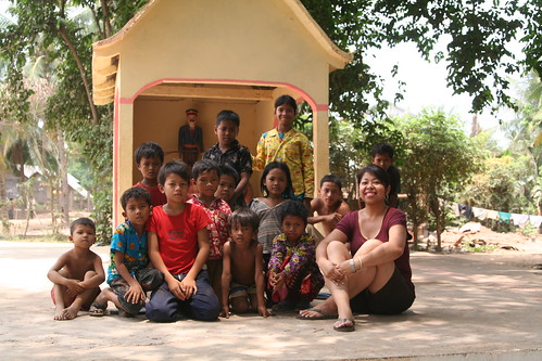 kids in kandal province