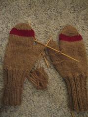 Gah! Stupid mittens!