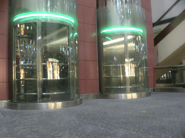 Elevators in Las Vegas airport