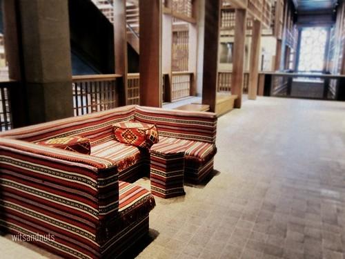 That Arabic sofa at The Souk, Central Market, Abu Dhabi