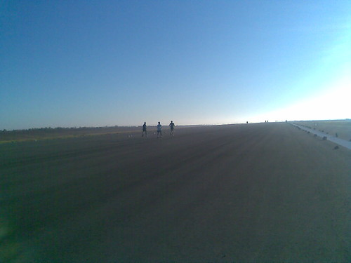 View of the runway