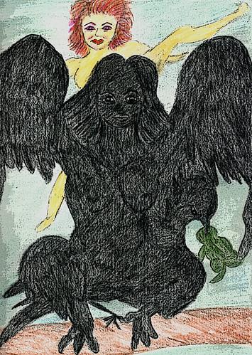 Raven Woman