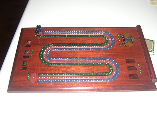 Fancy Cribbage Board