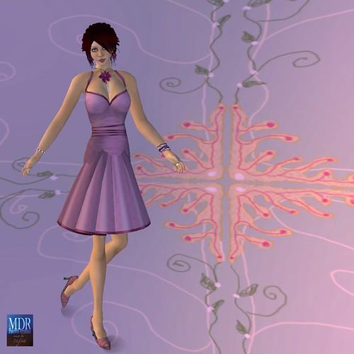 Checker Dress Pink