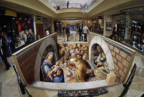 nativity at Xanadu by streetpainter.
