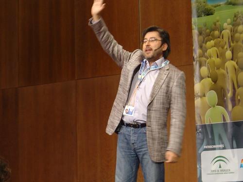 Juanma Ortega en el EBE07
