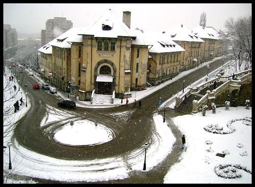 Snowy Winters In Europe
