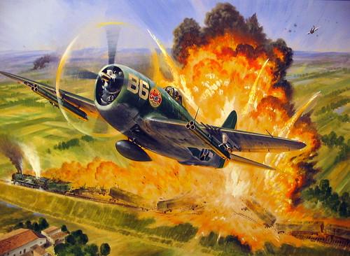 P-47 Thunderbolt, Força Aérea Brasileira / Brazilian Air Force por Luigi Brasile