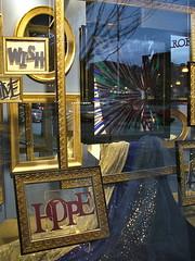 Hope, framed