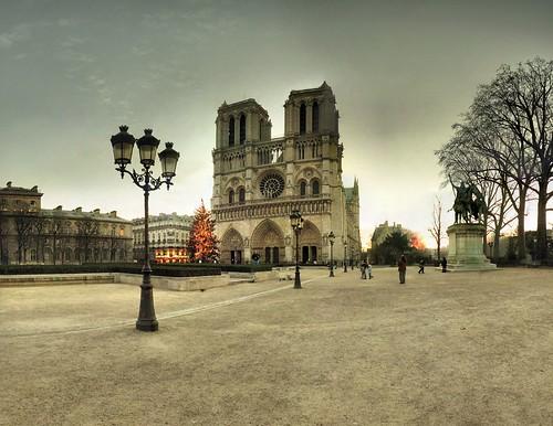 Cathédrale Notre-Dame de Paris - 22-12-2007 - 8h35