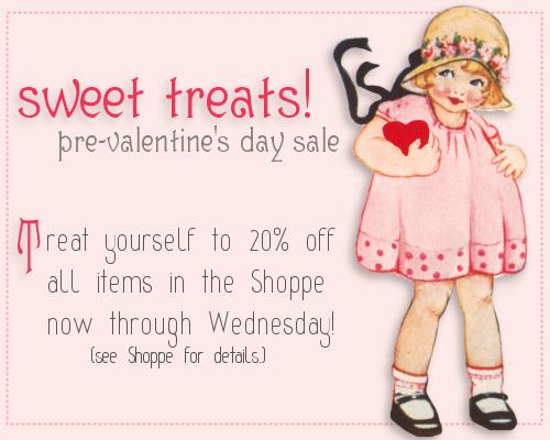 pre-valentine's day sale!