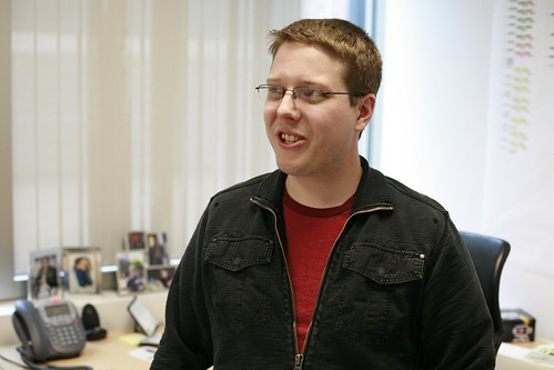 Steven Pearman, runs product development for MySpace