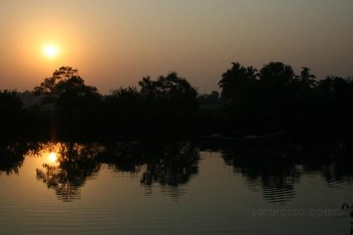 Sunrise near Baga Beach, Goa, India