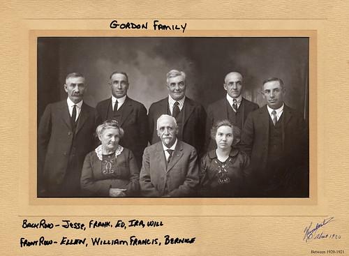 Gordon family, c 1920