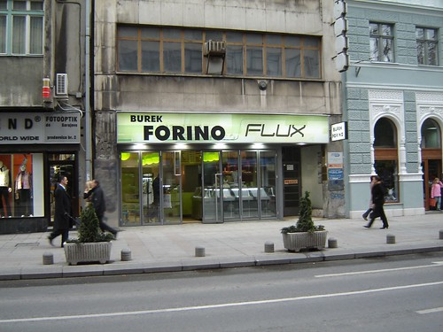 Restaurant doar pentru Burek in Sarajevo