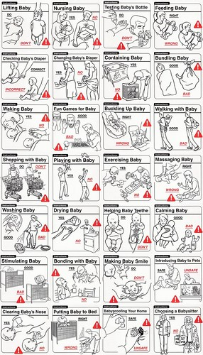 Instrucciones para padres novatos