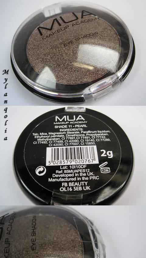 MUA Eye Shadow PS11-1