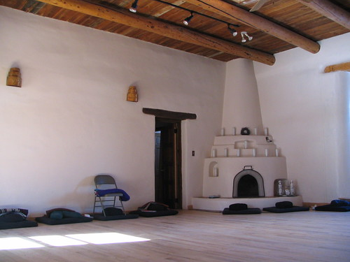 Afternoon Meditation, Mabel Dodge Luhan House, Taos, New Mexico, February 2007, photo © 2007 by QuoinMonkey. All rights reserved.