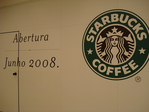 Starbucks is opening. IN MY CITY.