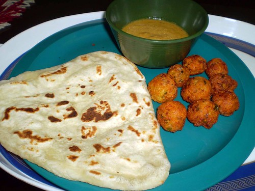 Naan with Malai Kofta