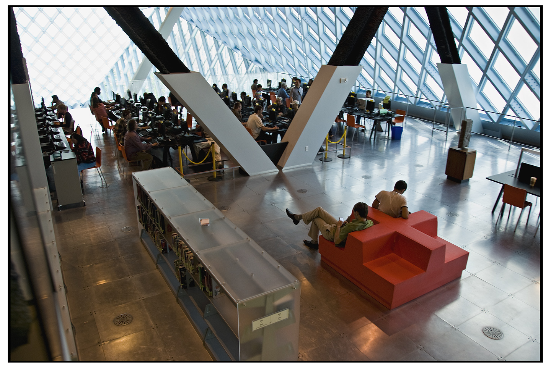 Interior - Seattle Public Library