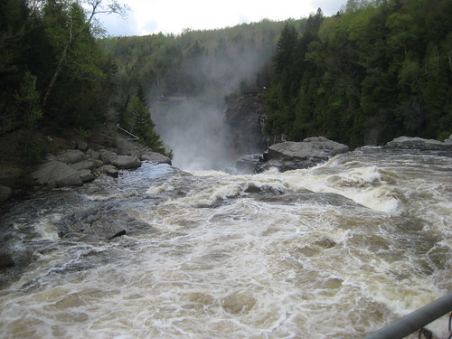 Ste Anne Falls from the Mestachibo Bridge