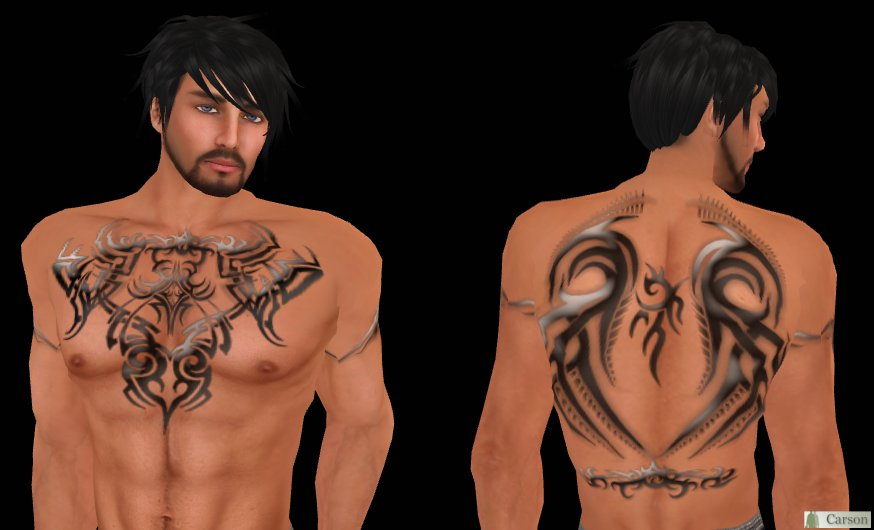 RR Tribal Front and Back