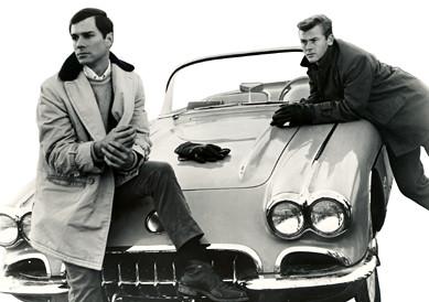 George Maharis (left) and Martin Milner in