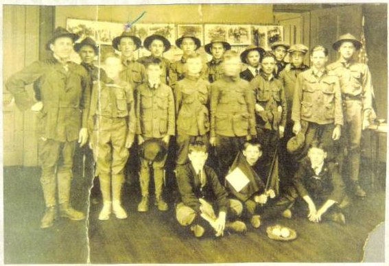 1914 Boy Scout Troop