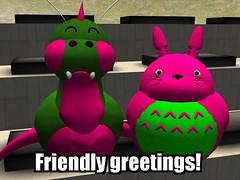Friendly greetings!