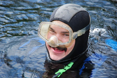 Ken Parrish has been diving at the gulch for over 20 years.