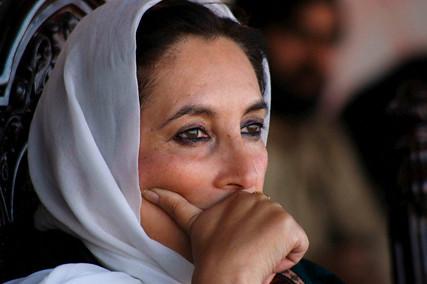 Benazir Bhutto, Peshawar, Pakistan 26 December 2007