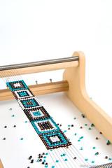 Beaded Bracelet on Loom