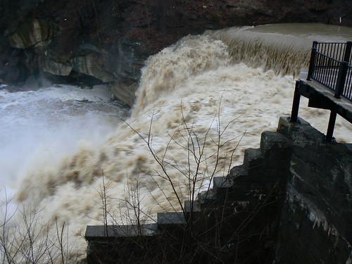 Raging Cascade Falls