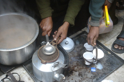 Old Delhi_小巷弄1-7煮印度茶